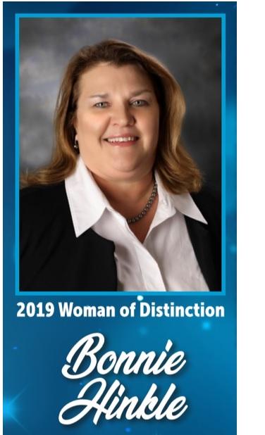 Bonnie Hinkle - 2019 Woman of Distinction