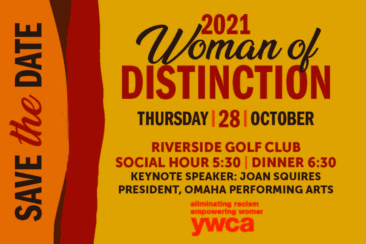 Woman of Distinction - SAVE THE DATE