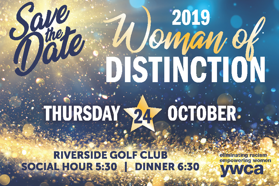Save the Date - Woman of Distinction 2019